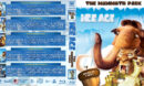 Ice Age: The Mammoth Pack (2002-2016) R1 Custom Blu-Ray Cover