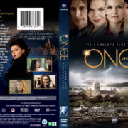 Once Upon A Time: Season 1 (2011) R1 DVD Cover