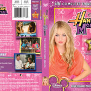 Hannah Montana: Season 3 (2008-10) R1 DVD Cover
