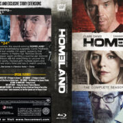 Homeland: Season 1 – 3 (2011-2013) R1 Blu-Ray Cover