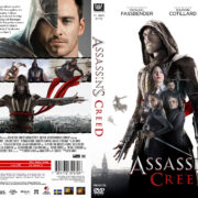 Assassin's Creed (2016) R0 DVD Custom Swedish Cover