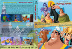 The Emperor's / Kronk's New Groove Double Feature (2000-2005) R1 Custom Cover