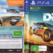 Dirt Rally (2016) PAL PS4 Cover & Label