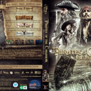 Pirates Of The Caribbean: 4-Movie Collection (2003-2011) R1 Blu-ray Custom Cover
