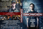 Snowden (2016) R1 Custom Cover & Label