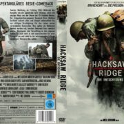 Hacksaw Ridge (2016) R2 GERMAN Custom Cover