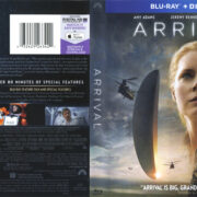 Arrival (2016) R1 Blu-Ray Cover & label