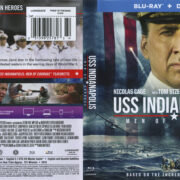 USS Indianapolis: Men Of Courage (2017) R1 Blu-Ray Cover & Label