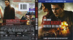 Jack Reacher: Never Go Back (2016) R1 Blu-Ray Cover & labels