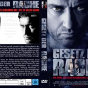 Gesetz der Rache (2009) R2 German Custom Cover & Label