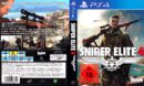Sniper Elite 4 (2017) German PS4 Cover & Label