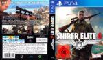 Sniper Elite 4 (2017) German PS4 Cover & Label