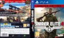 Sniper Elite 4 (Limited Edition) (2017) USA Custom PS4 Cover & Label