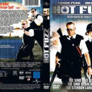 Hot Fuzz (2007) R2 GERMAN DVD Cover