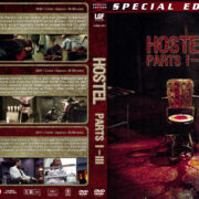Hostel Trilogy (2011) R1 Custom DVD Cover