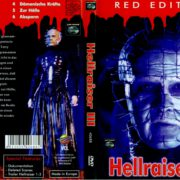 Hellraiser III (Red Edition) (1992) R2 GERMAN DVD Cover