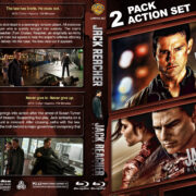 Jack Reacher Double Feature (2012-2016) R1 Custom Blu-Ray Cover