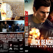 Jack Reacher 2 Kein Weg zurück (2016) R2 German Custom Cover & labels