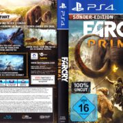 FarCry Primal (Sonder-Edition) (2016) German PS4 Cover & Label