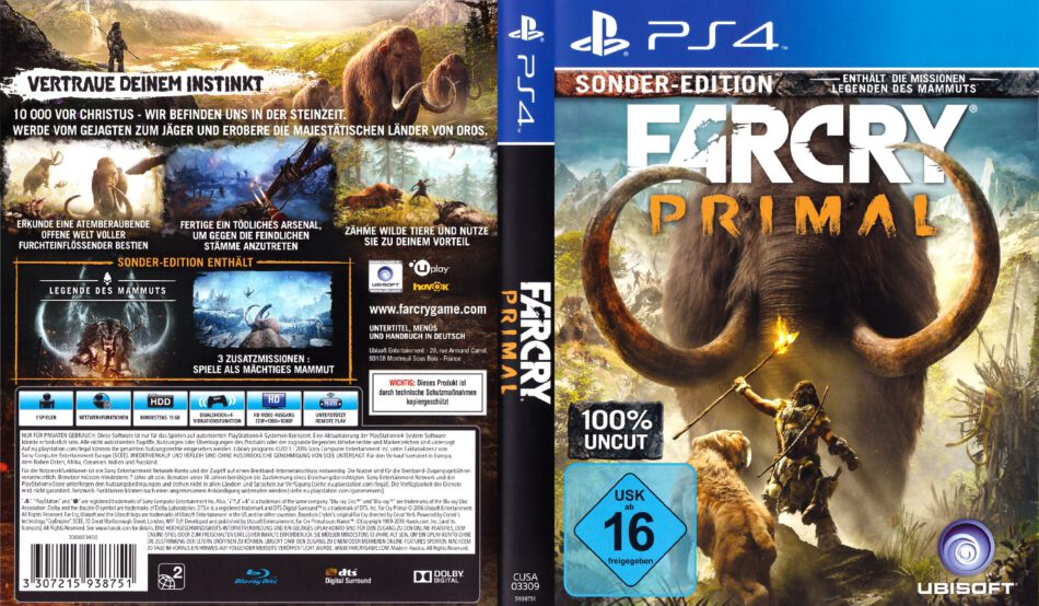 far cry 2 dvd cover