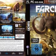 FarCry Primal (2016) German PC Cover & Labels