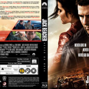 Jack Reacher Never Go Back (2016) R2 Blu-Ray Custom Nordic Cover