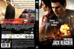 Jack Reacher Never Go Back (2016) R2 DVD Custom Nordic Cover