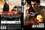 Jack Reacher Never Go Back (2016) R2 DVD Custom Nordic Cover