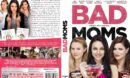 Bad Moms (2016) R2 GERMAN Custom DVD Cover