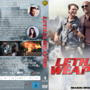 Lethal Weapon Staffel 1 (2017) R2 German Custom Cover & labels