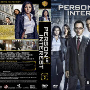 Person of Interest – Season 3 (2014) R1 Custom Covers