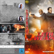 Lethal Weapon Staffel 1 (2017) R2 German Custom V2 Cover & Labels