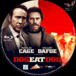 Dog Eat Dog (2016) R2 German Custom Blu-Ray Labels
