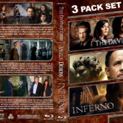 The DaVinci Code / Angels & Demons / Inferno Triple Feature (2006-2016) R1 Custom Blu-Ray Cover