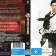 Constantine (2005) R4 Blu-Ray Cover & Label