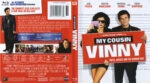 My Cousin Vinnie (1992) R1 Blu-Ray Cover & Label