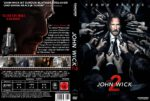 John Wick: Kapitel 2 (2017) R2 GERMAN Custom DVD Cover