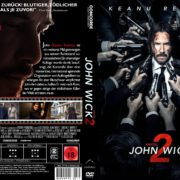 John Wick: Kapitel 2 (2017) R2 GERMAN Custom DVD Cover