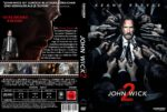 John Wick: Kapitel 2 (V.2) (2017) R2 GERMAN Custom DVD Cover