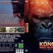 Kong Skull Island (2017) R2 GERMAN Custom DVD Cover