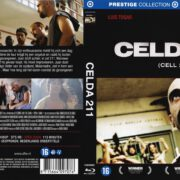 Celda 211 (2009) R2 Blu-Ray Custom Dutch Cover