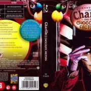 Charlie And The Chocolate Factory (2005) R2 Blu-Ray Dutch Cover