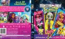 Monster High Electrified (2017) R2 Custom Blu-Ray Swedish Cover