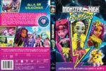 Monster High Electrified (2017) R2 Custom DVD Swedish Cover