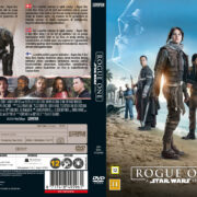 Rogue One A Star Wars Story (2016) R2 Custom DVD Nordic Cover