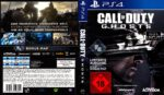 Call of Duty Ghosts (2013) German PS4 Cover & Label