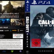 Call of Duty Ghosts (Hardened Edition) (2013) Custom German PS4 Cover & Label