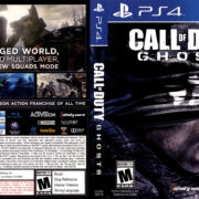 Call of Duty Ghosts (2013) USA PS4 Cover & Label