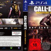 Call of Duty Advanced Warfare (Day Zero Edition) (2014) German PS4 Cover