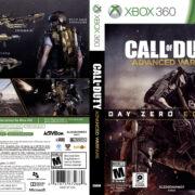 Call of Duty Advanced Warfare (Day Zero Edition) (2014) USA XBOX 360 Cover
